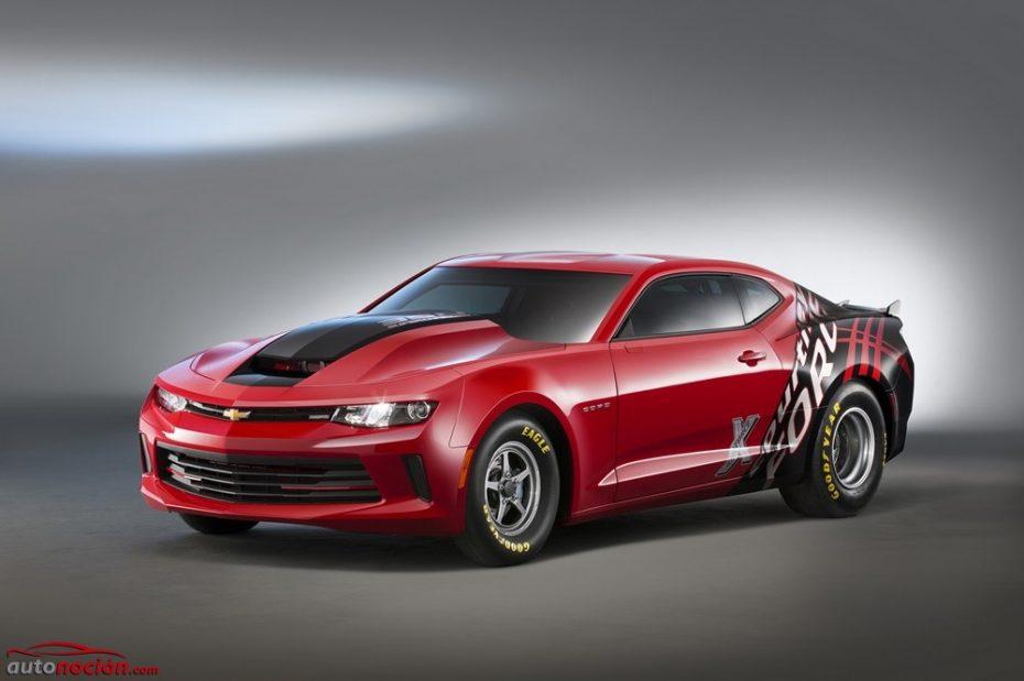 Chevrolet Camaro COPO: La bestia del drag que plantará cara al Mustang Cobra Jet en el SEMA Show