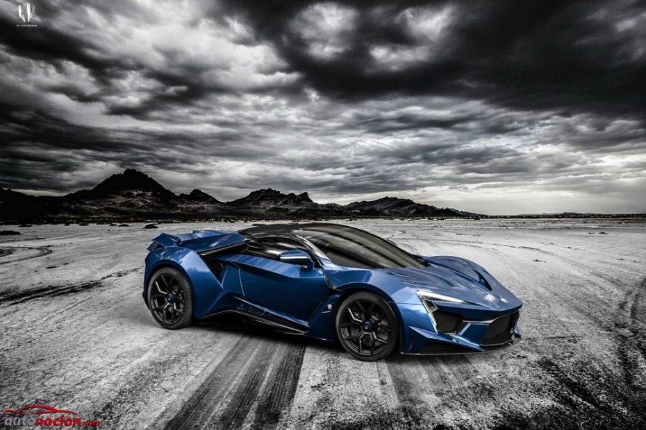 Fenyr Supersport: El brutal deportivo con aspecto de Batmóvil y más de 1.000 CV se destapa en Dubai