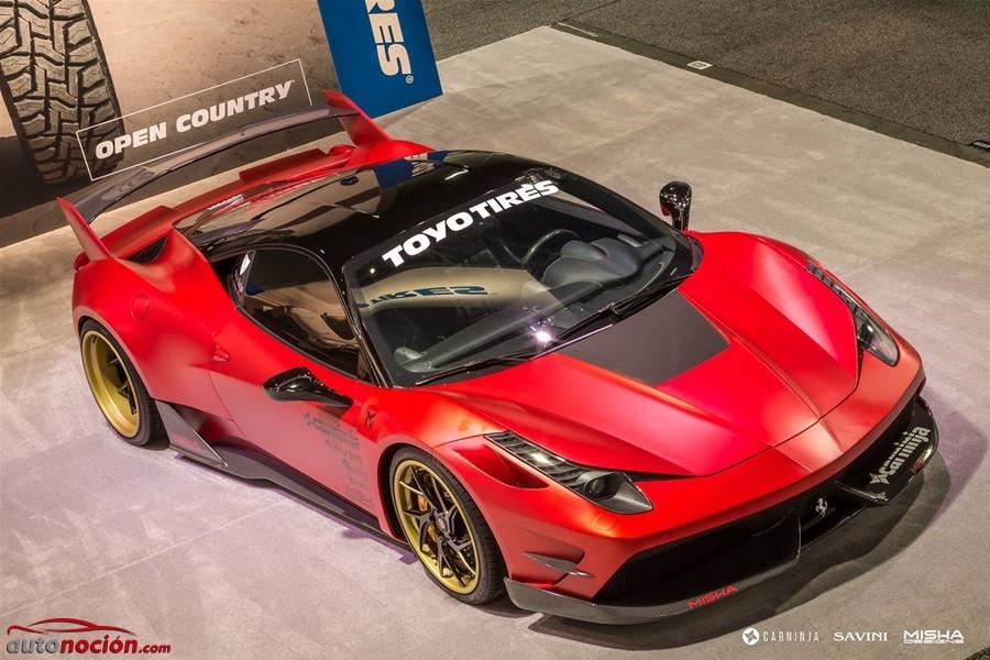 Ferrari 458 por Misha Designs (1)