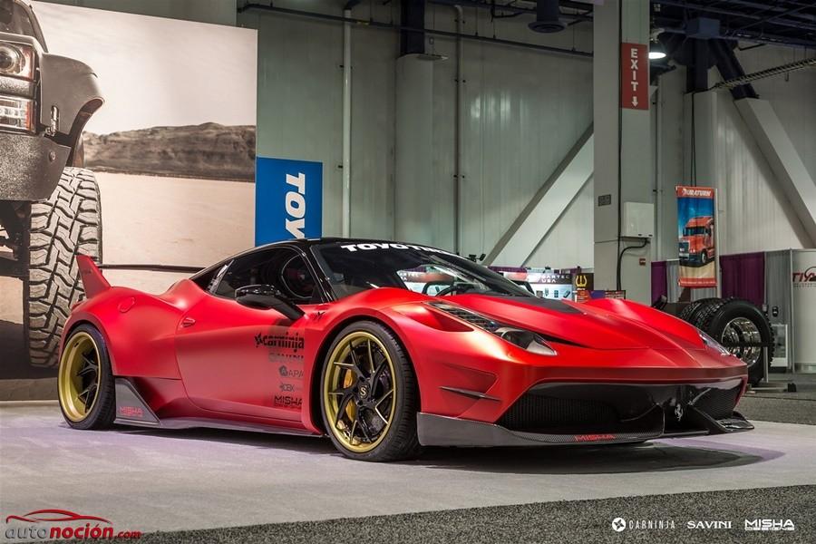 Por fin conocemos al Ferrari 458 de Misha Designs: Radical de pies a cabeza y aires de FXX K