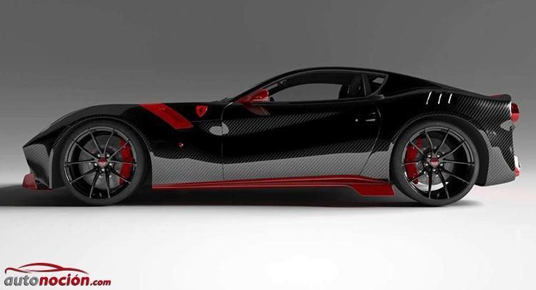 El Ferrari F12 tdf mucho más radical y ligero gracias a la dieta rica en fibra de Vitesse | AuDessus