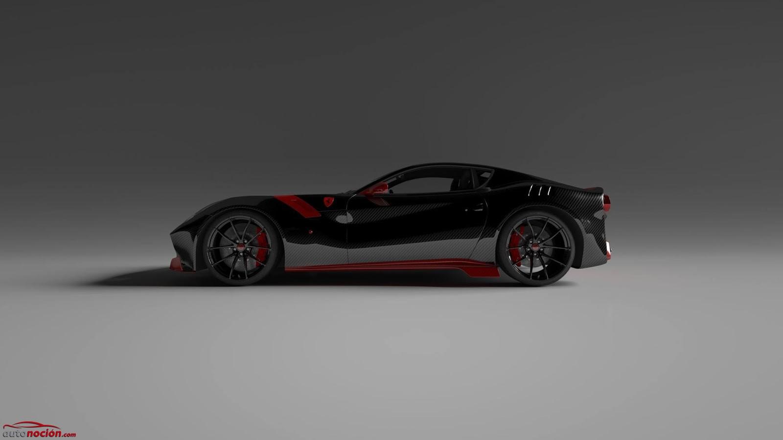 Ferrari F12 tdf fibra de carbono (1)