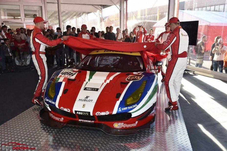 Ferrari 488 GTE y GT3: Las nuevas armas V8 italianas para la competición ven la luz en Mugello