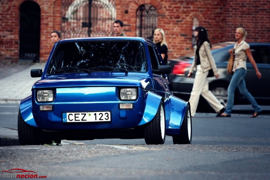 Desde Lituania con amor: El Fiat 126p Turbo que se hizo con las carreras callejeras del Este