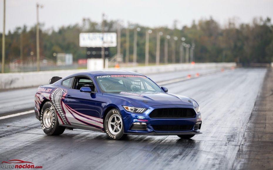 Ford Mustang Cobra Jet, la nueva bestia del drag racing estadounidense