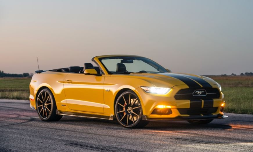 HPE750 Supercharged Ford Mustang Convertible 2