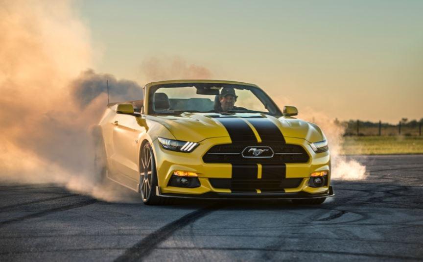 Hennessey HPE750: Un Mustang convertible sobrealimentado que alcanza los 320 km/h
