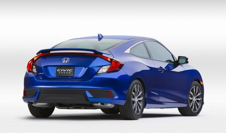 ¿Nos gustaría tener a este Honda Civic Coupé en Europa?