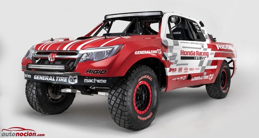 Honda Ridgeline: la ofensiva nipona de cara a la próxima Baja 1000