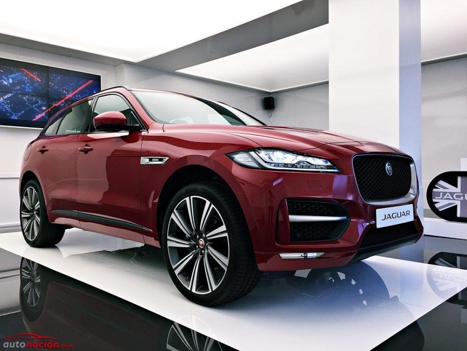 Conocemos en primicia el nuevo Jaguar F-PACE, el crossover deportivo inspirado en el F-TYPE