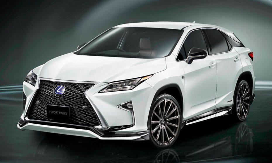 Las F Sport Parts de Toyota Racing Development llegan al nuevo Lexus RX