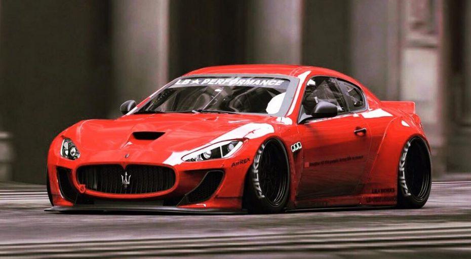 Maserati GranTurismo by Liberty Walk: Italianos y japoneses unidos de la mano en el diseño