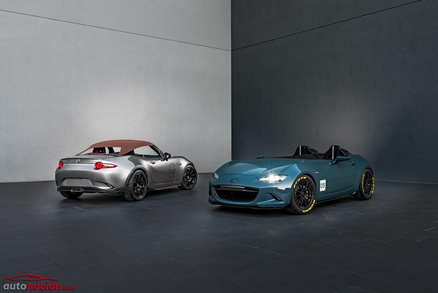 Objetos de culto: Mazda nos sorprende con dos MX-5 más ligeros, deportivos y 'vintage' en el SEMA Show