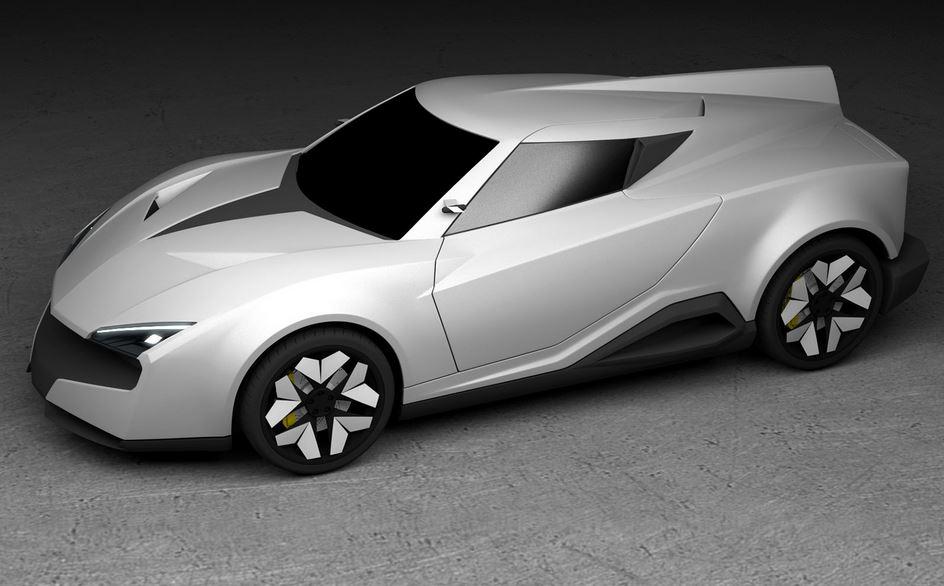 """Mean Motors nos muestra el M-Zero, un superdeportivo híbrido """"Made in India"""" con un motor V8 biturbo de 4.0 litros bajo el capó"""