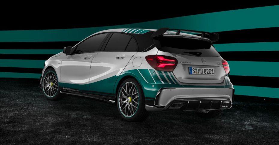 Mercedes-AMG A 45 4MATIC World Champion Edition: Una flecha de plata con 381 CV para todos los días