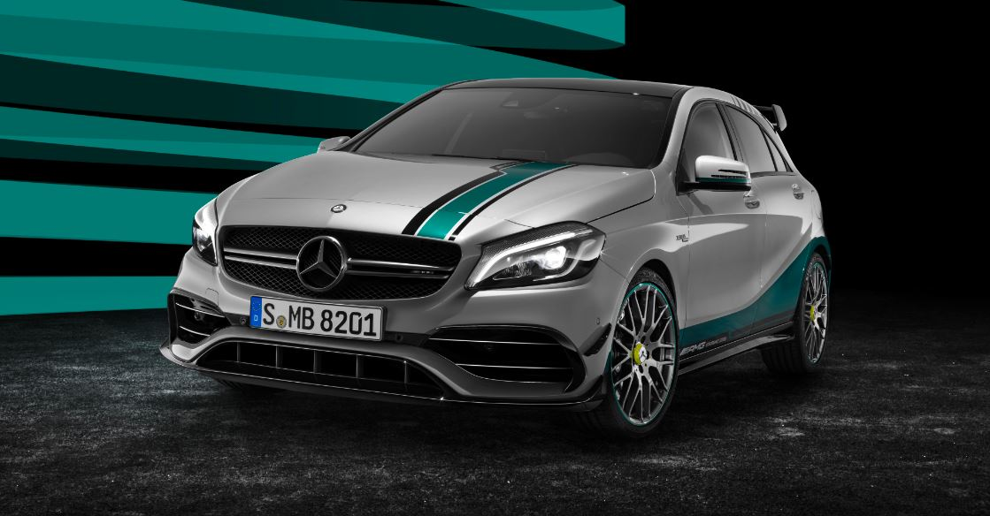 Mercedes A45 AMG World Champion Edition 2