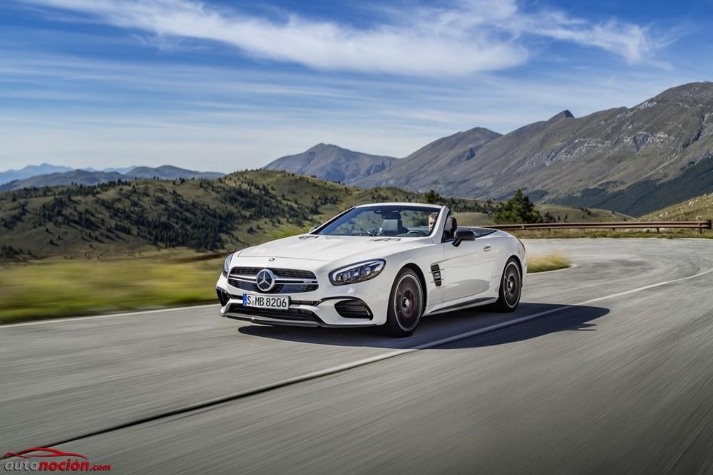 Mercedes-AMG SL 2016: Motores V8 y V12 mejorados para los roadster más picantes de la Estrella