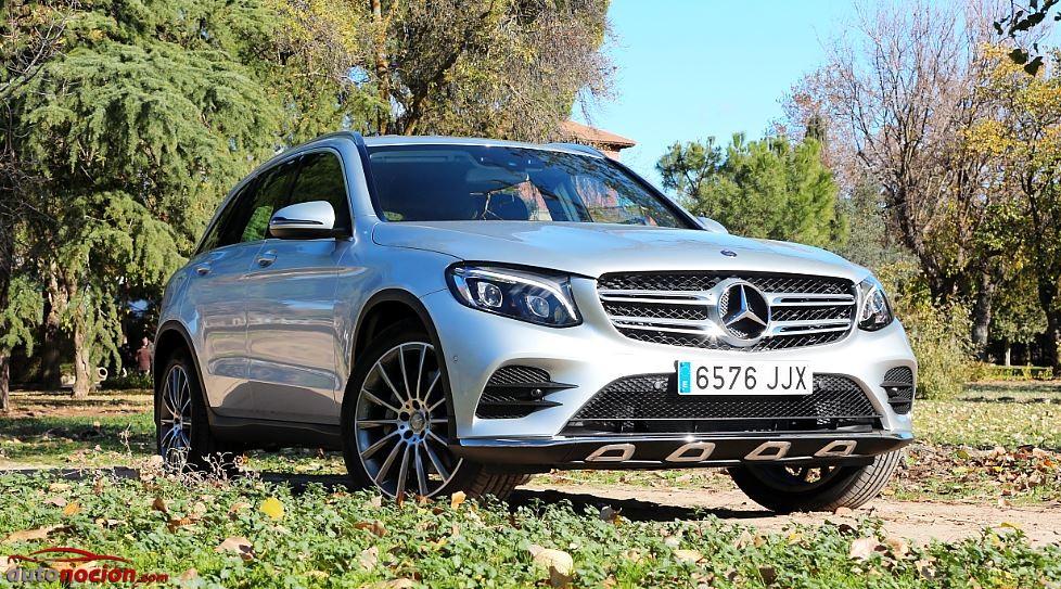 Contacto Mercedes-Benz GLC 220 d 4MATIC Edition 1: Su logo no es una estrella, es un punto de mira…