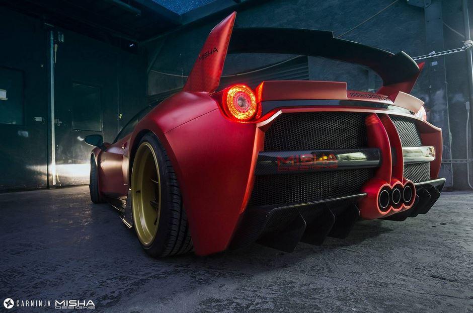 Misha Designs Ferrari 458 Italia 3