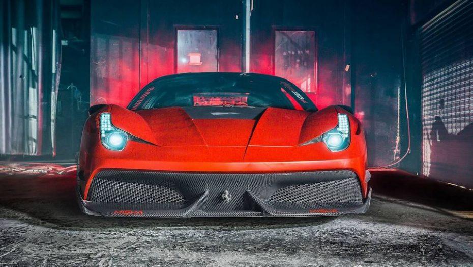 Misha Designs le mete mano al Ferrari 458 Italia: Radical de pies a cabeza