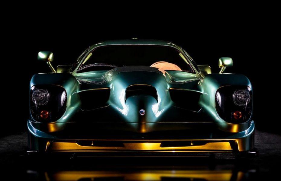 El atronador Panoz Esperante GTR-1; Nacido en Le Mans y restaurado para Dubai