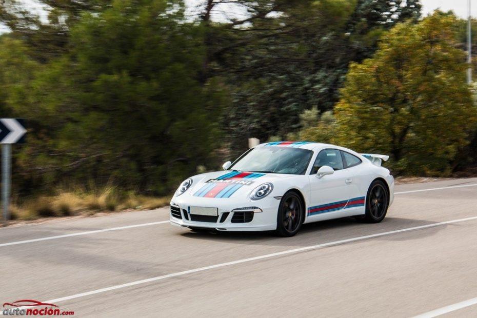 Prueba Porsche 911 Carrera S Martini Racing Edition: El nueveonce de siempre, tan llamativo como nunca