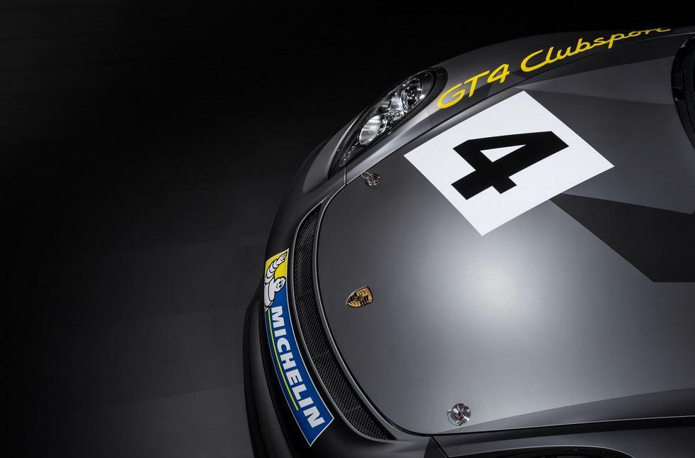 Porsche GT4 Clubsport 4