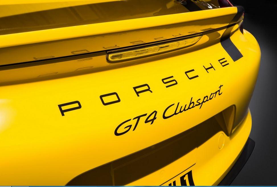 Porsche GT4 Clubsport 7