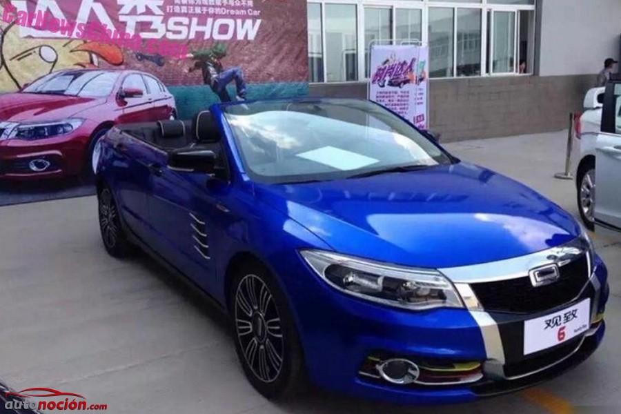 ¿Estamos ante el competidor chino del Audi A3 Cabrio? Atento al peculiar Qoros 6