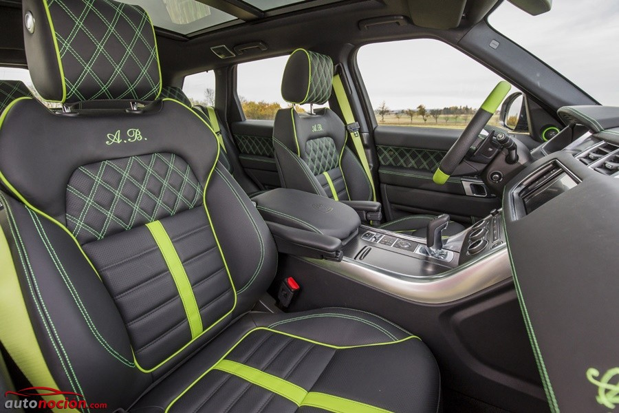 Range Rover Sport SVR por LUMMA Design (1)