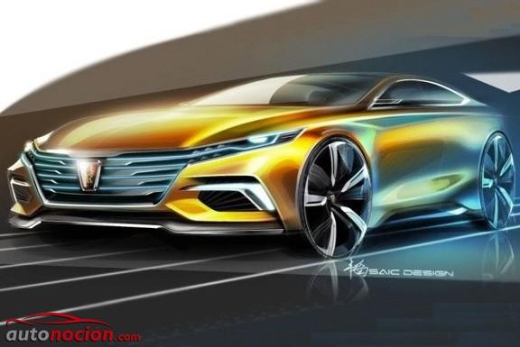 Roewe Vision R Concept: El anticipo del futuro coupé de la marca para China