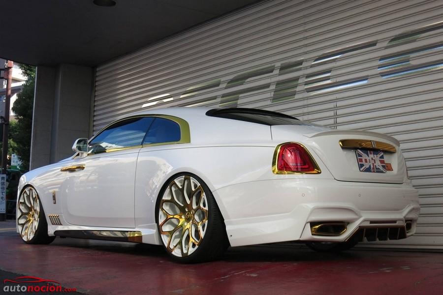 Rolls-Royce Wraith por Office-K: La máxima expresión de la extravagancia sobre ruedas