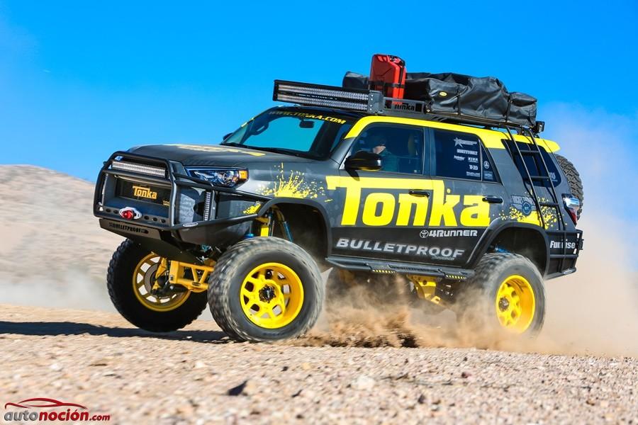 Toyota 4Runner Tonka Concept: la máquina definitiva para hacer escapadas de safari