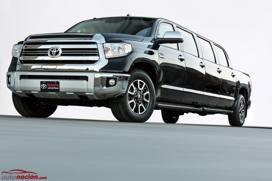 Toyota Tundrasine concept: Una peculiar limusina pick up de 8 puertas y casi 4 toneladas