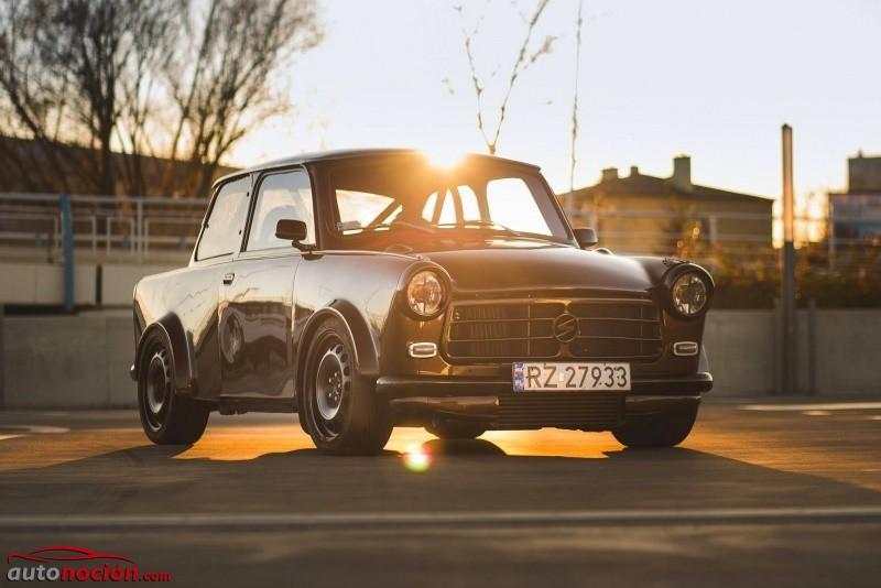 ¿Un Trabant que alcanza los 100 km/h en 4,5 segundos? Sí, y también supera los 200 km/h