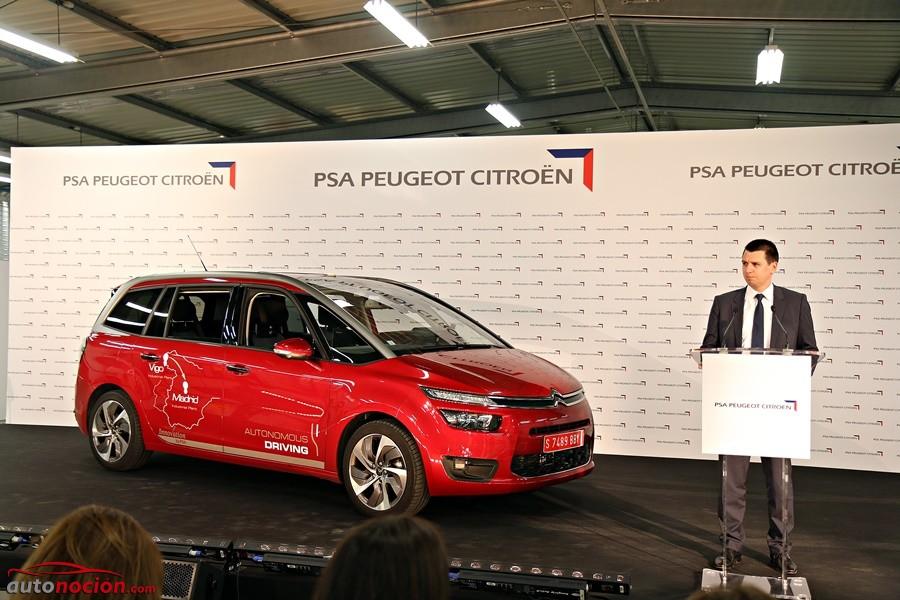 PSA Peugeot Citroën se apunta un tanto con el exitoso primer trayecto de coche autónomo en España