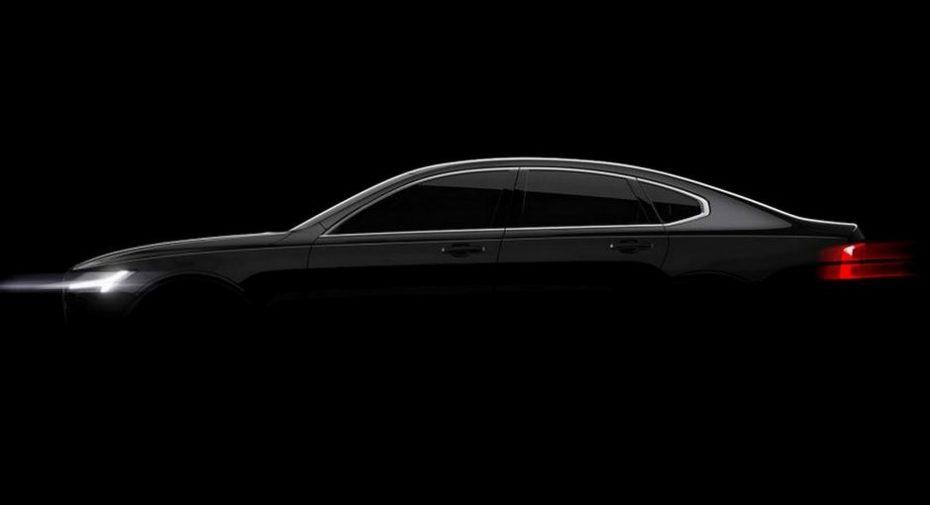 Volvo S90: Primeros teasers oficiales, aunque ya lo hemos visto…