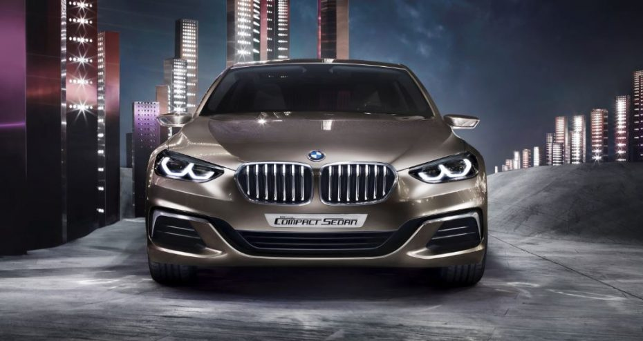 Aquí tenemos el anticipo del BMW Serie 1 Sedán: ¿Deberían el A3 Sedán y el CLA tener miedo?