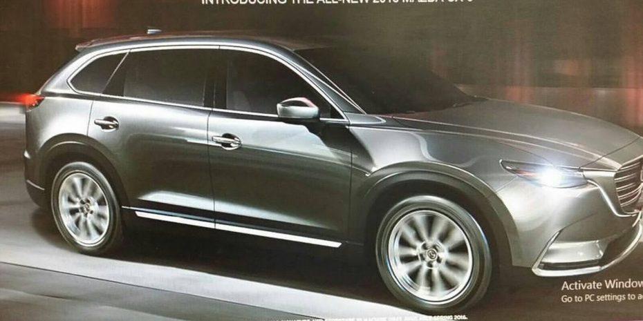 El Mazda CX-9 se filtra antes de tiempo: Así es el próximo SUV grande de la firma