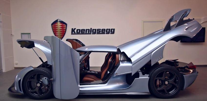 Koenigsegg Autoskin: El sistema de apertura manos libres de un coche de 2.1 millones de euros