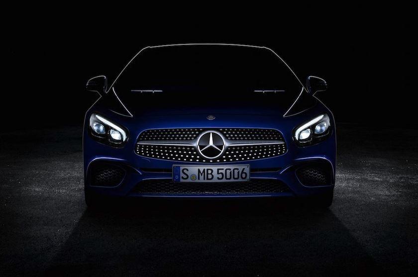 El nuevo Mercedes-Benz SL da la cara
