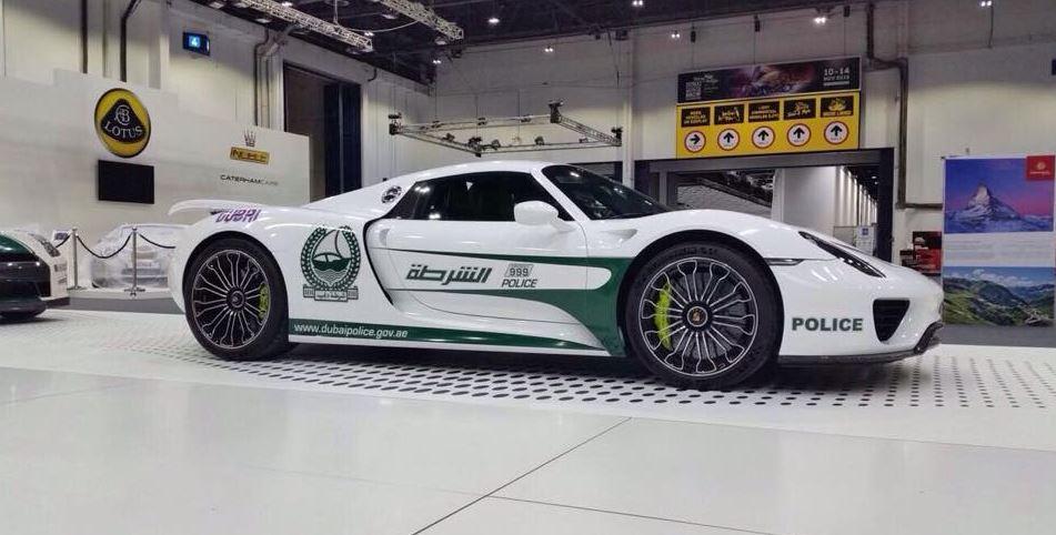El nuevo juguete de la policía de Dubai es híbrido, ¡pero vaya híbrido!