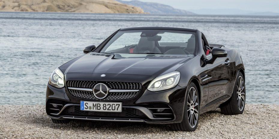 Nueva galería de imágenes del Mercedes SLC: El pequeño roadster que llegará en enero