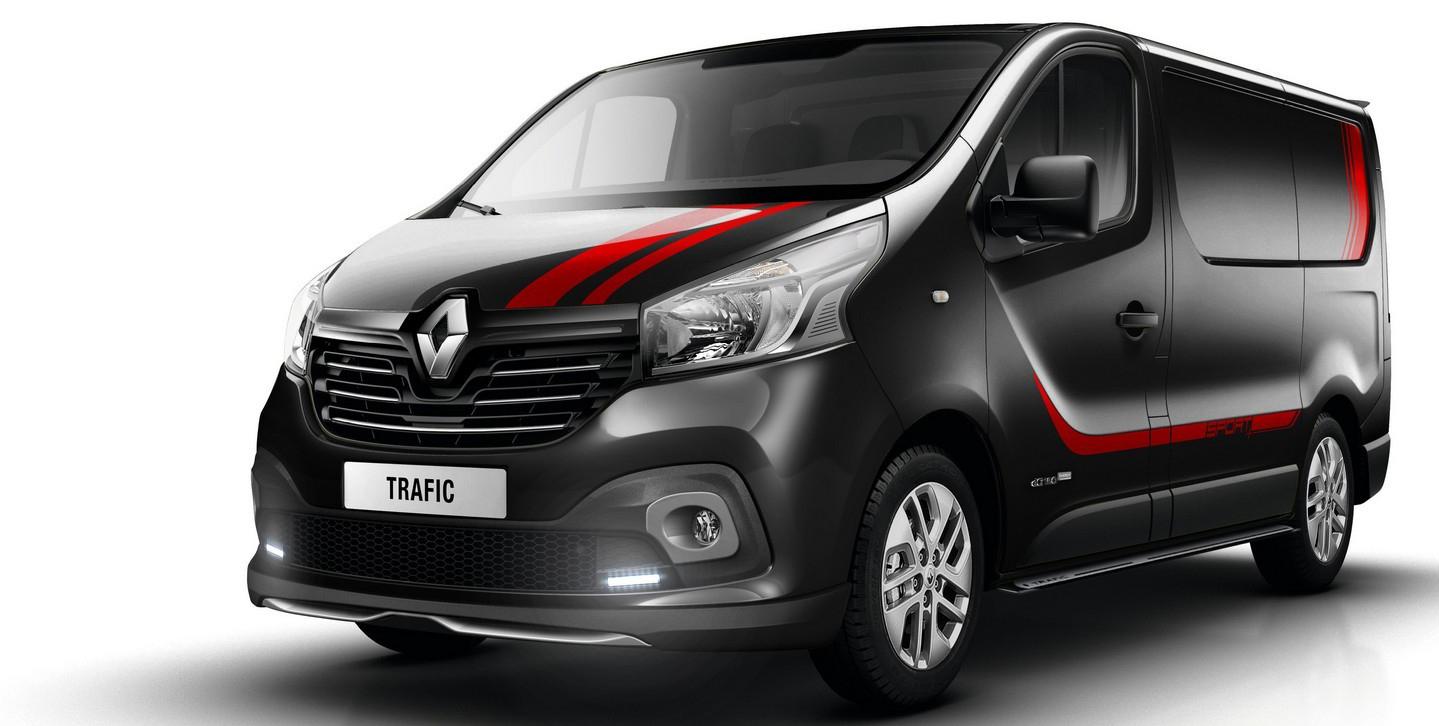 Los repartidores más racing ya tienen su furgo adecuada: Nuevo Renault Trafic Sport +