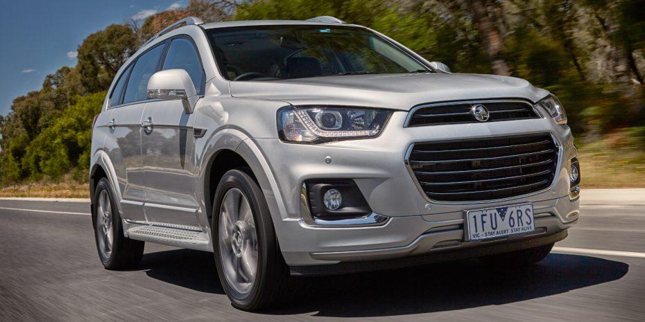 El Captiva sigue más vivo que nunca, al menos en Australia: Holden lo actualiza con hasta 255 CV