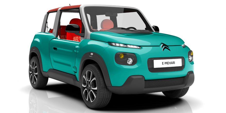 Así es el nuevo Citroën E-Mehari: Un eléctrico que llegará en primavera
