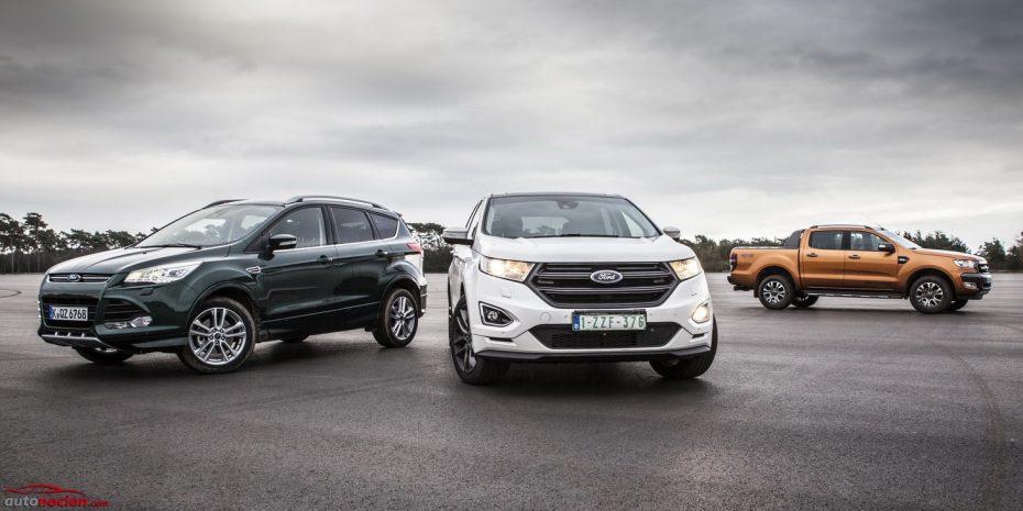 Ford espera duplicar sus ventas de 4×4 en Europa: Hasta 17 modelos pueden tener tracción total