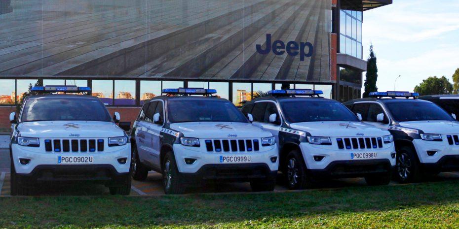 La Guardia Civil estrena 15 Jeep Grand Cherokee CRD: Además suman más Fiat Scudo a la flota