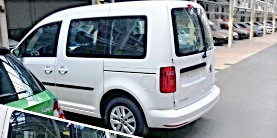 Este es el Skoda Roomster que finalmente no verá la luz: Un Caddy con otro logo