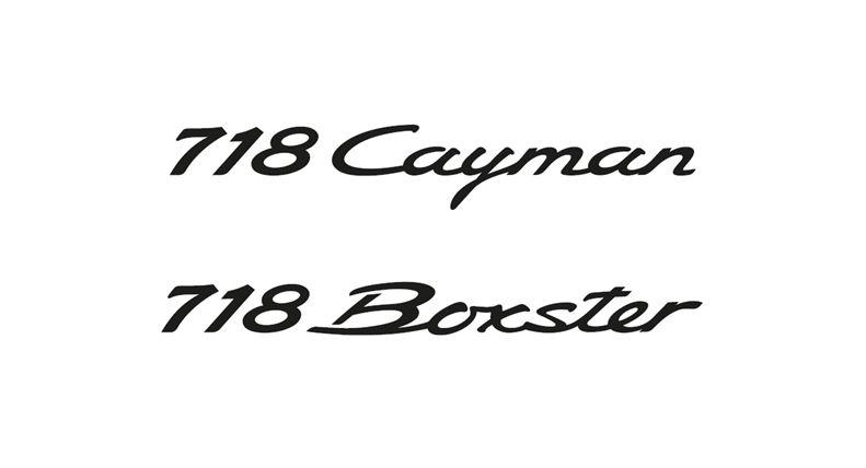 Porsche cambia la nomenclatura: Boxster y Cayman ahora serán la gama 718